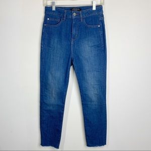 RW&CO High Rise Cropped Skinny Leg Jeans Size 26